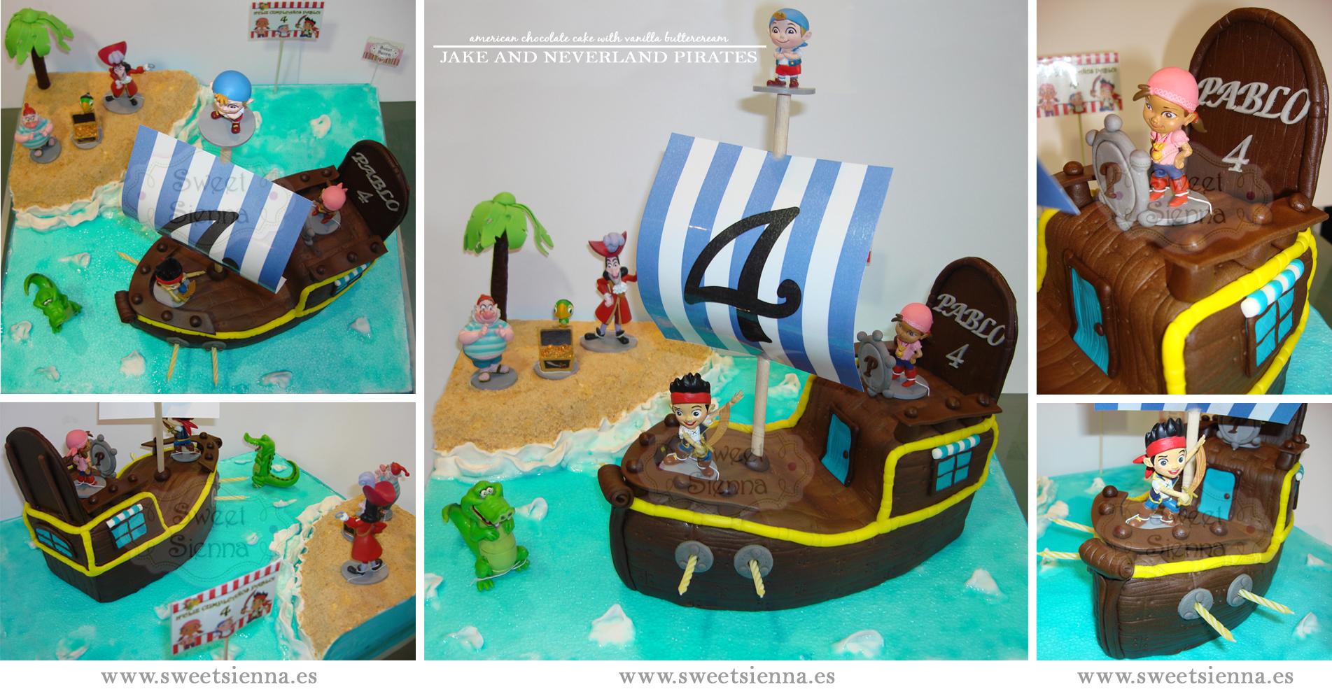 Ideas para fiesta de Jake y los piratas de nunca jamas =)